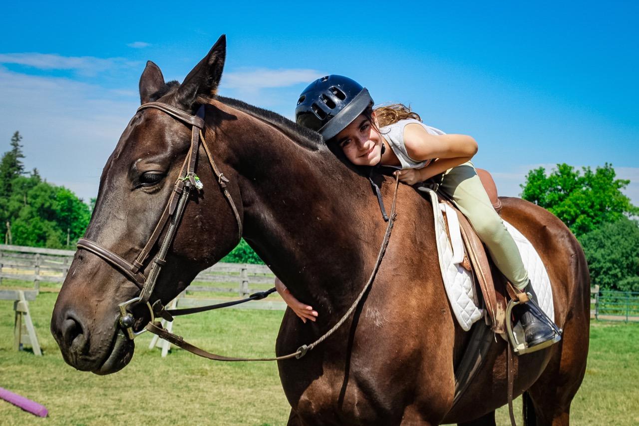 Full-Day Cedar Creek Horseback Riding Program