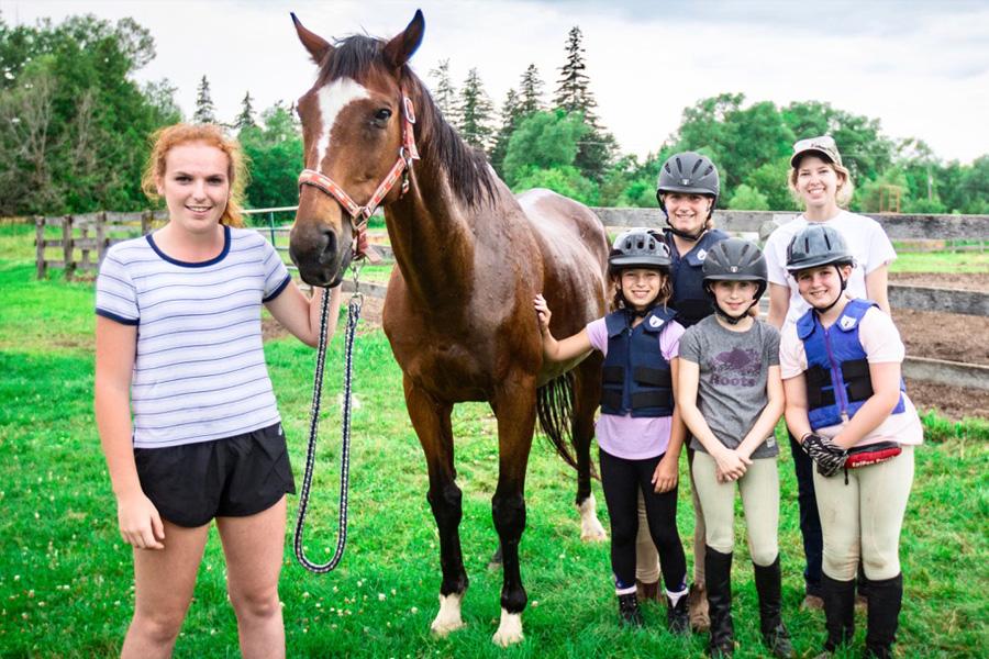 Half-Day Saddle Champs Horseback Riding Program